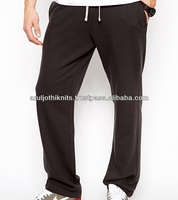 Mens straight fit sweat pant with drawstring