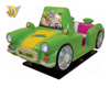 Happy journey 2 seats car coin operated kiddie rides