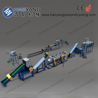 high quality tpu recycling material/polyester recycling plant/hard waste recycling machine