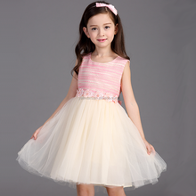 Cheap Latest Children Kids Frocks Designs Pictures Flower Girl Dresses for 5 Years Old