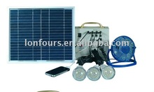LFS-MSP80 Mini solar power system with USB cellphone charger, solar power machine