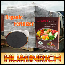 """Huminrich"" 99.7% Soluble Super Potassium Humate Raw Material Organic Fertilizer For Strawberry"