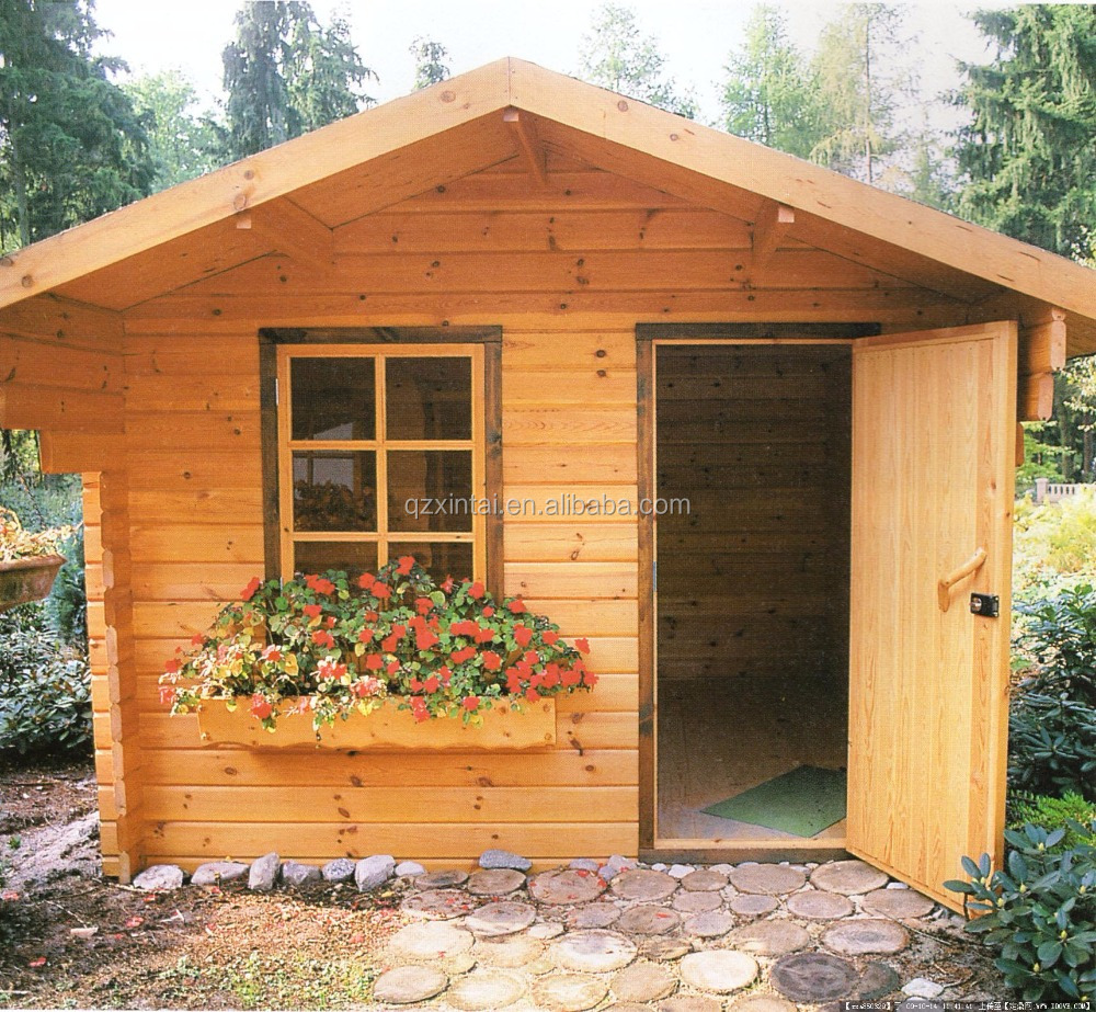 Spacious leisure prefabricated log cabin, casual place maker, mobile home