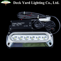 IP68 submersible led boat trailer lights outdoor 316 stainless steel led underwater boat lighting 18W Led Boat Light