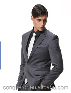 China Men Suit Factory For Mens Bespoke Men Navy Blue Slim Cut business wedding suit