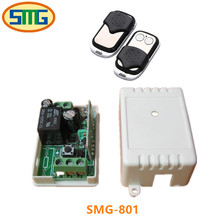 AC 220 V 1 channel RF mini Wireless Remote Control 1 Receiver & Transmitter 315 mhz or 433 mhz