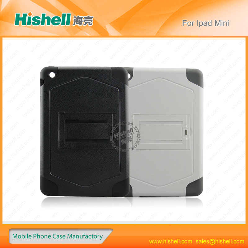 PC and silicon material for ipad mini protective case