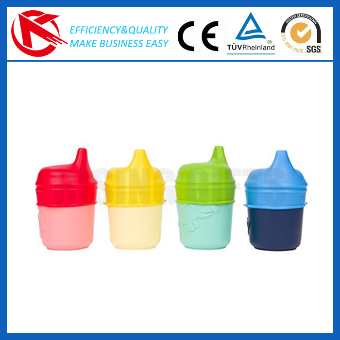 Silicone Sippy Lids Healthy Toddlers Spill-proof Bottle Lid Make Any Cup OEM