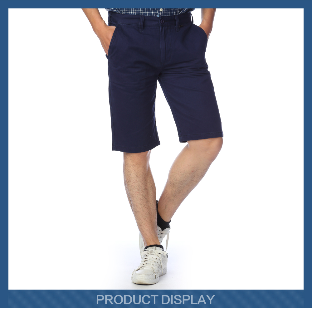 Hot casual mans short jeans trousers wholesale blue jeans