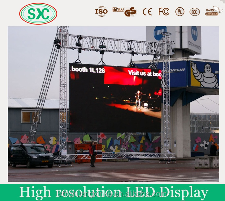 Waterproof 120w led wall pack light led rental display panel billboards franchise