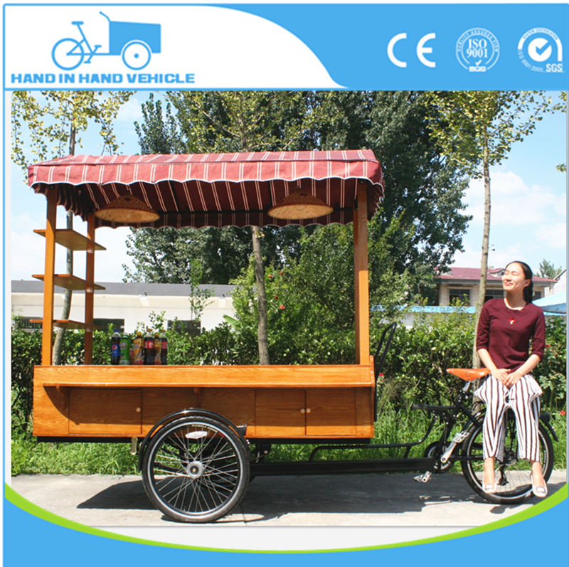 Distinctive coffee vending bike new coffee tricycle electric cargo bike