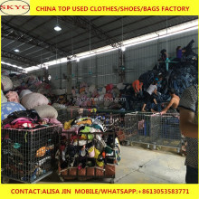 Africa used clothing buyers in India selling cheap mixed summer season second hand clothes