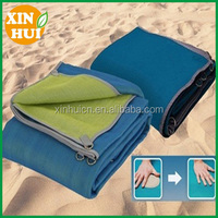 Hot Sale HDPE Knitted Foldable Sand Free Beach Mat, Beach Blanket,Picnic Mat