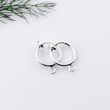 Clip On Earring Unisex Small Hoop Earring Fake Body Jewelry Designs For Girls