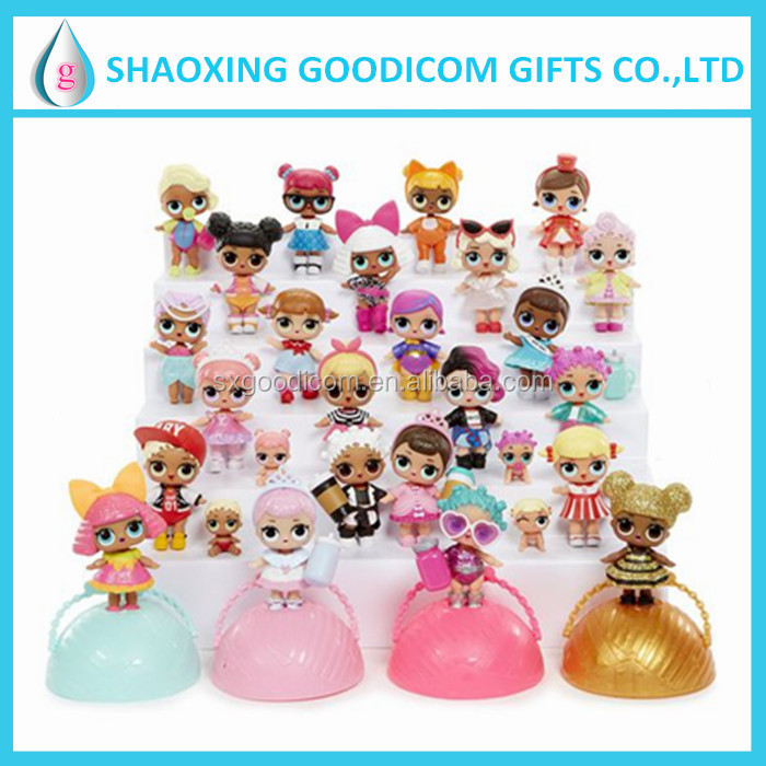 Newest product LOL surprise dolls spray water 18sets Series fashion toy