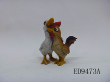 Small figures for resin animal cock