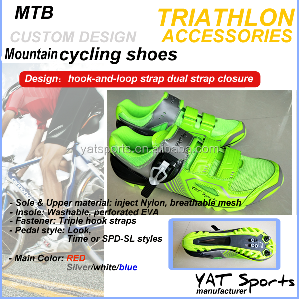 High quality professional manufacturer YAT SPORTS with custom logo Mountain MTB Cycling Shoes