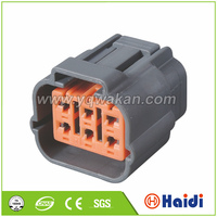 rj45 male to female housing 6 pin plastic sumitomo connector