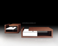Contemporary Furniture Wooden End Coffee Table
