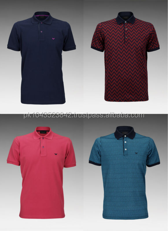 Beautiful Fitted Free Size Many Colour Men's Polo Shirt 2014