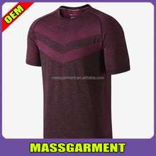 Men's polyester sports shirts dry fit Breathable perspiration t-shirts