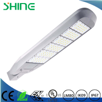 CE RoHS ENEC UL DLC aluminum alloy led street light parts