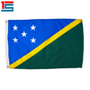Customized Solomon Islands National Flags for decoration