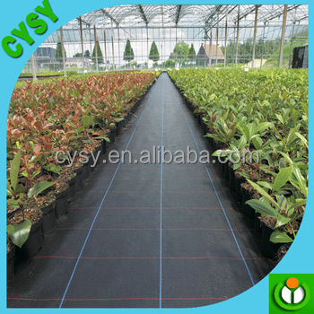 Agricultural garden ground cover fabric weed control / barrier mat / plastic pp weed control mat