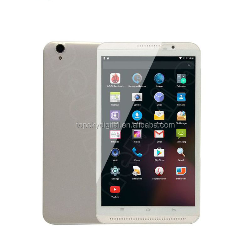 IPS screen 8 inch Ram 2G Rom 16G Phone Tablet 2G 3G 4G Android 6.0 Bluetooth Tablet PC