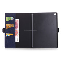 IMPRUE Case New Style Oli Coatting Wallet Leather Case For iPad Air 2 With Side Buttons