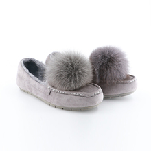 Good Quality Flannel Slip-On Lady Fashion Shoe,New Design Ladies Shoes