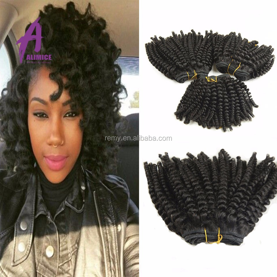 Hot 8A Grade Afro Kinky Curly Human Hair, Remy Human Hair Persian Hair Extension