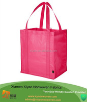 Natural Color Red Reusable Durable Cotton Canvas Multipurpose Carrying/shopping/ Enviro shopping bags