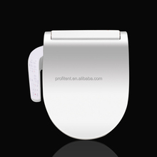 Smart Toilet Seat With Integrated Panel Electric Bidet Seat