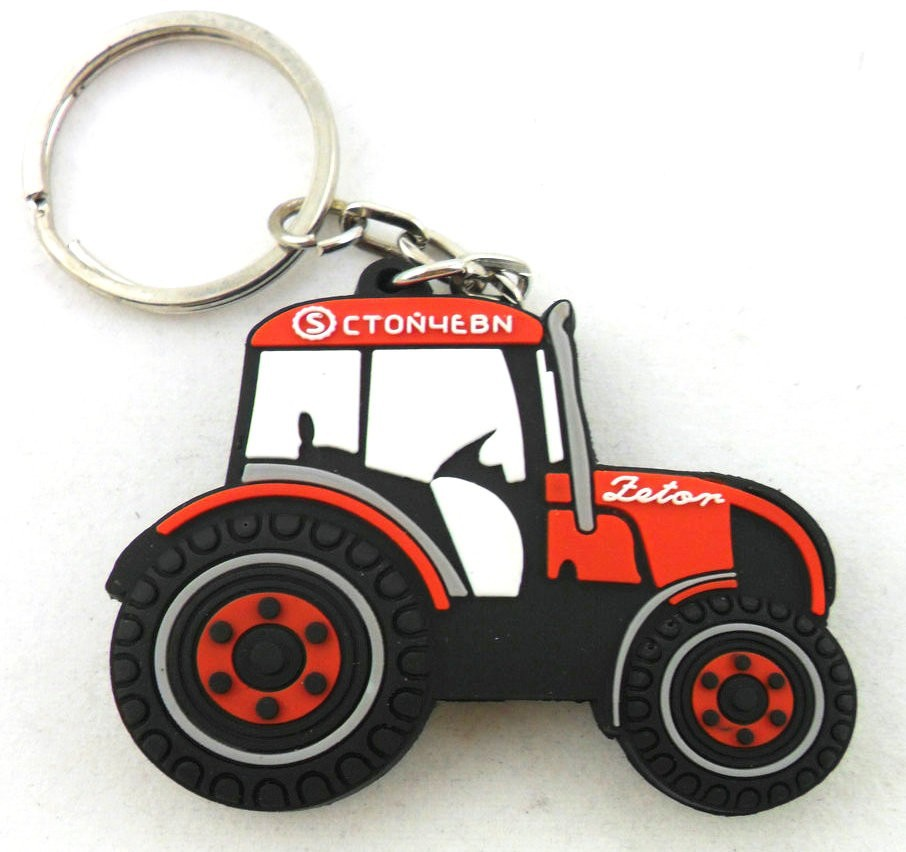 custom soft pvc rubber car logo keyring