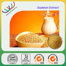 Soybean extract free sample passed KOSHER certificate factory supply anti-cancer health supplement 40% soybean isoflavones p.e