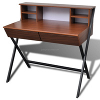 modern design book study desk with drawers, cheap PC desk for office home furniture