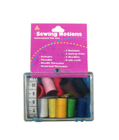 Manufacturer supply logo carved sewing kit in plastic box