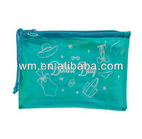 transparent PVC bikini bag,PVC garment bag with nice design