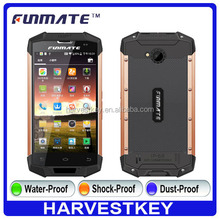 2016 Newest 5.0inch Screen IP68 waterproof 4g rugged phone with NFC 8.0 mp camera