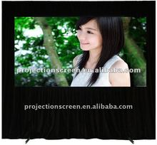 Front and rear fabric fast fold projection screen,Easy install