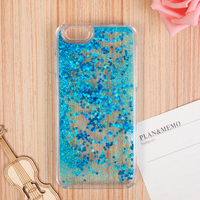 2016 Cheap Price Waterproof Glitter Moving Star Liquid Mobile Phone Case For iPhone 6