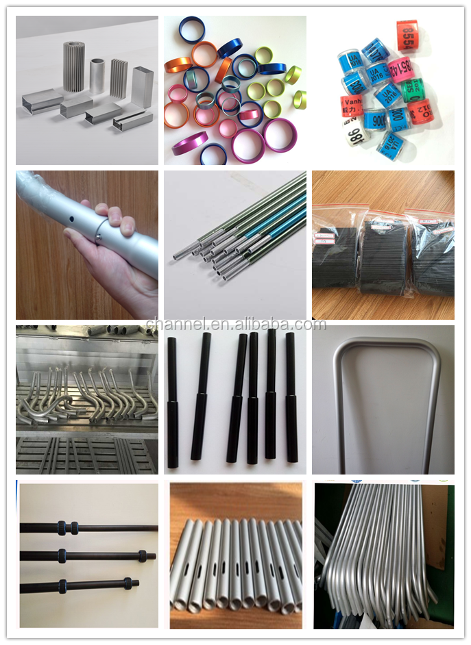 High quality Square/Rectangular aluminium tube/pipe 6061 6063 t5 t6