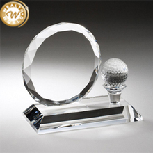Hot Sell best billiards sports crystal trophy for promotion