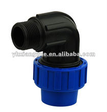 PN16 pp compression fittings for irrigation ,pp irrigation fittings