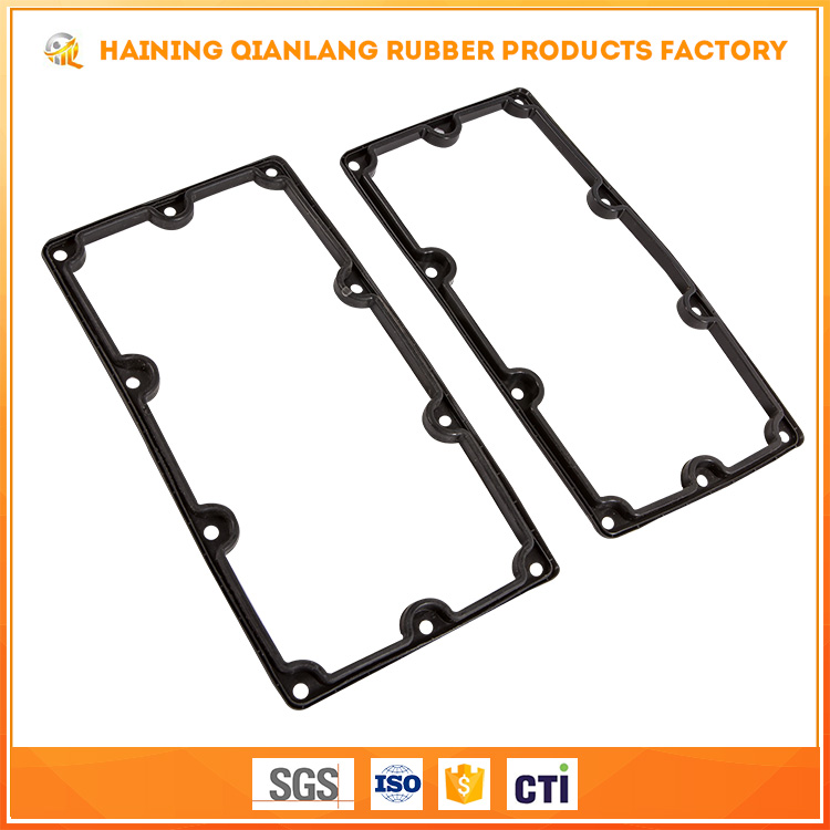 Customized Epdm/Mbr/Cr Material Heat Resistance Pipe Rubber Valve Cover Gasket