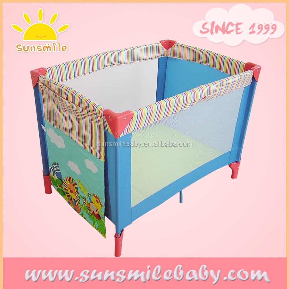 Baby bed portable - Cartoon Design Portable Baby Crib Baby Cot