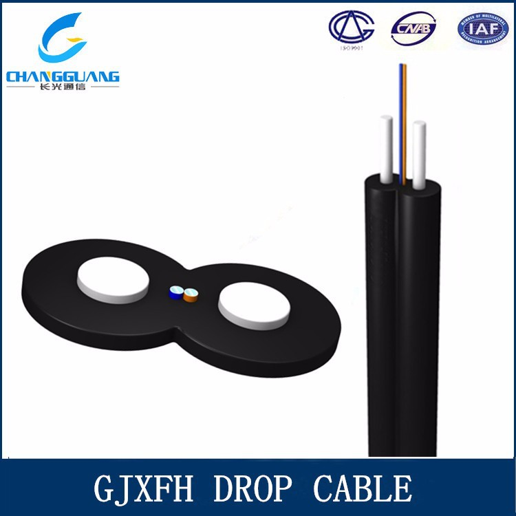 Quick delivery High quality fiber optic cable FTTH Indoor single mode 1core fiber opitc cable manufacturer with cheap price