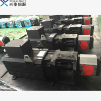 AC synchronous servo motor for plastic molding machine