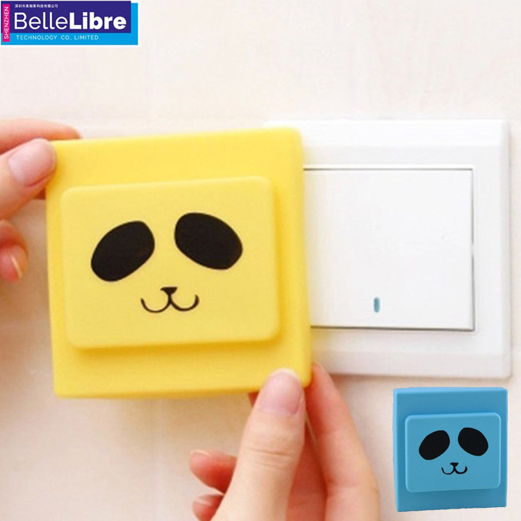 Electricity resistance silicone socket cover colorful rubber switch cover